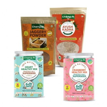 Herbal hot drink with Healthy Snacks
