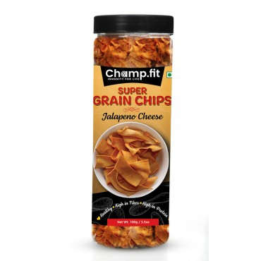 Grain Chips (Jalapeno Cheese)