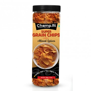 Grain Chips (Mixed Spices)
