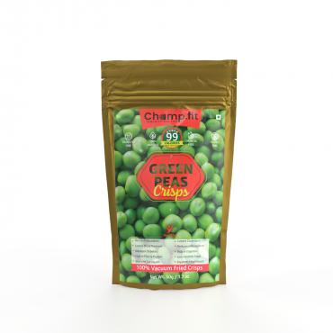 Green Peas Crisps