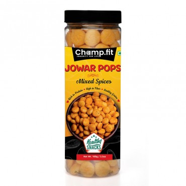 Jowar Pops (Mixed Spices)