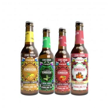 Kombucha pack of 4