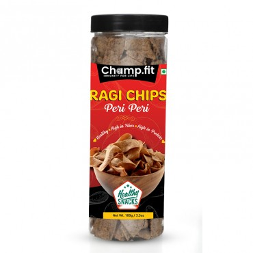 Ragi Chips (peri peri)