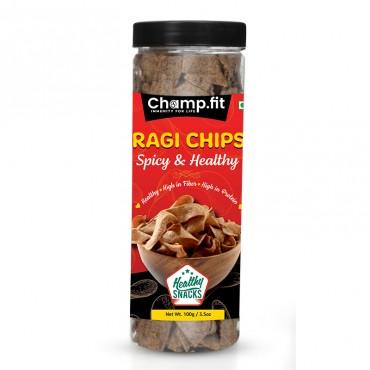 Ragi Chips (Spicy & Healthy)