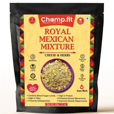 Royal Mexican Mixture-Cheese and Herbs