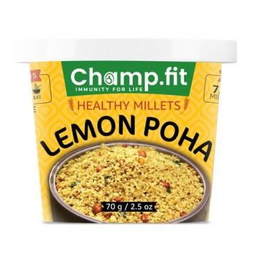 Millet Lemon Poha